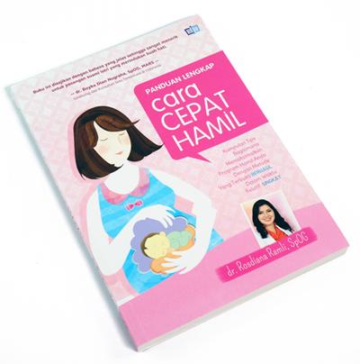 Buku Cara Cepat Hamil & Tips Hamil